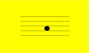 Place the cursor over this card to see what note is in the bass and treble clefs