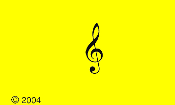 Treble Clef also known as a G-clef.